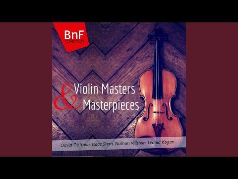 Violin Sonata in A Major, FWV 8: III. Recitativo-fantasia. Ben moderato