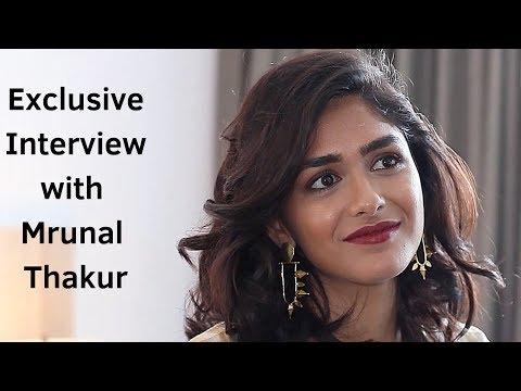 Mrunal Thakur   Exclusive interview