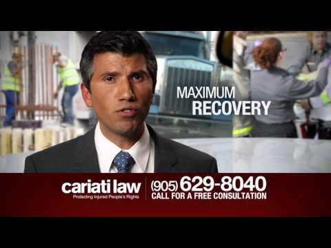 Cariati Law Ontario Serious Injury Law Firm