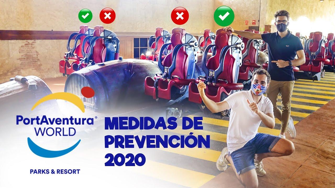 PortAventura 2020   ¡Así son las medidas de prevención!