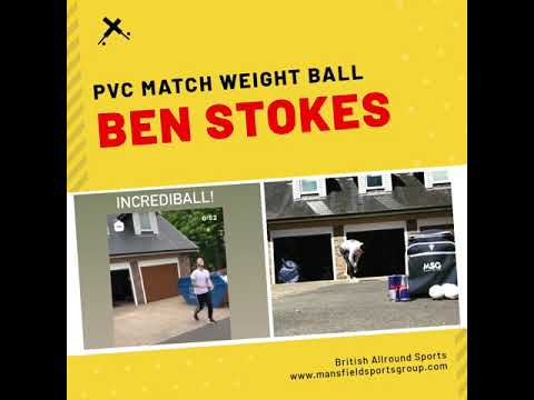Ben Stokes - Training Balls