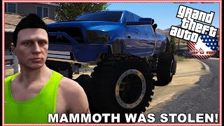 GTA 5 ROLEPLAY - SOMEONE STOLE MAMMOTH!!! AGAIN!! - EP. 995 - AFG - CIV