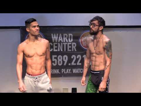 X1 #55 Weigh ins - Tyson Nam vs Shojin Miki