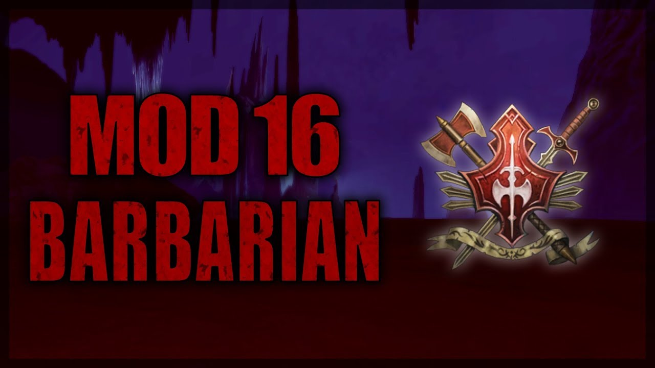 Neverwinter Mod 16 Barbarian Class Overview