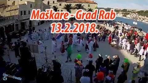 Maškare - Grad Rab 2018.