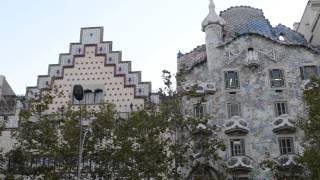 アキーラさん訪問③スペイン・バルセロナ・カサバトリョ,Casa Batlló,Barcelona,Spain