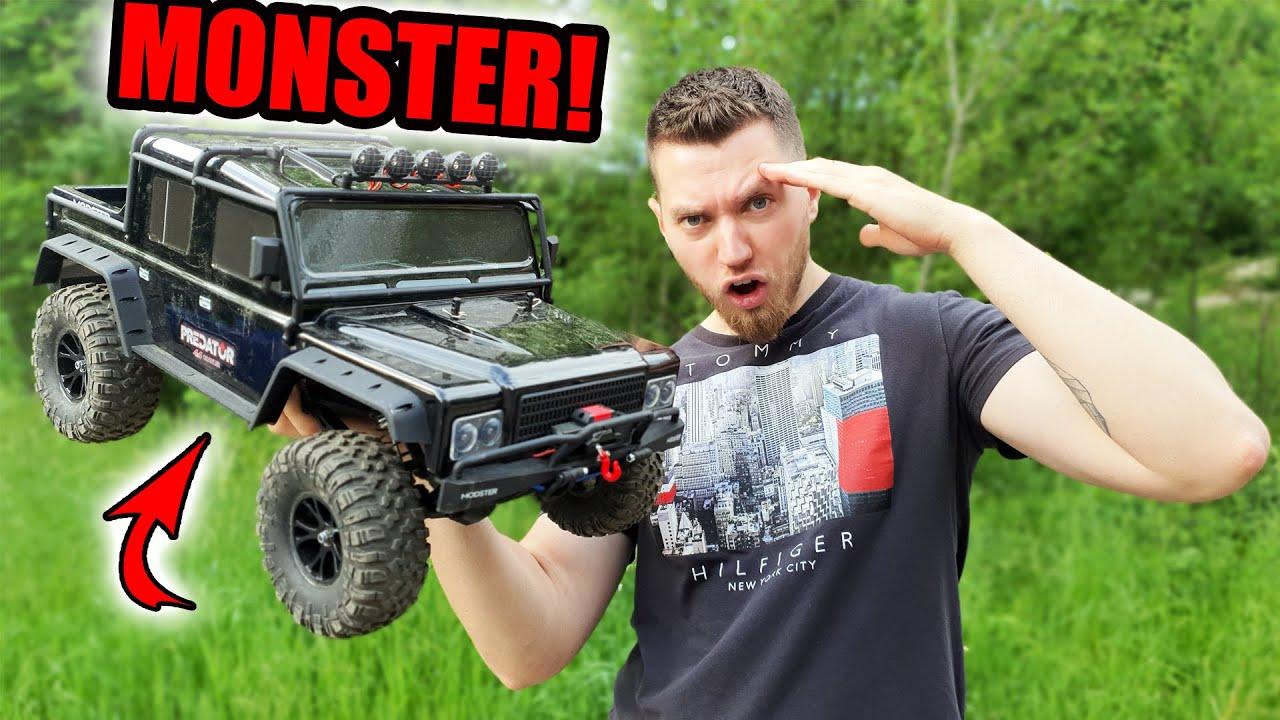 DER GRÖßTE CRAWLER?! | XXL Hummer mit SEILWINDE! (Modster Predator)