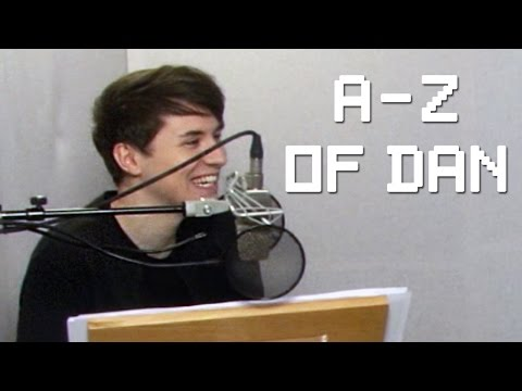 The A-Z of Dan (Behind the scenes of the TABINOF Audiobook!)