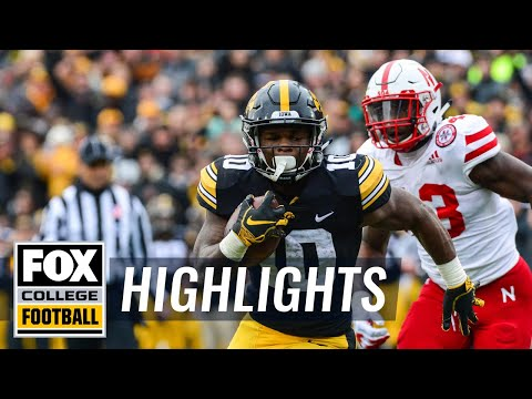 Iowa vs. Nebraska  | FOX COLLEGE FOOTBALL HIGHLIGHTS