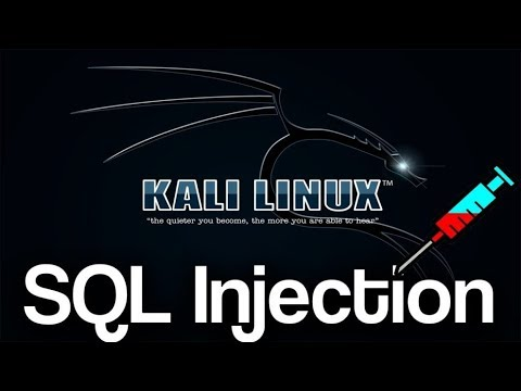 How To Hack Any Website Using Sql injection on Kali Linux 2017.3