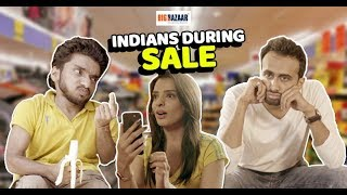 Indians During Sale ft. Chote Miyan & Abhinav | RVCJ