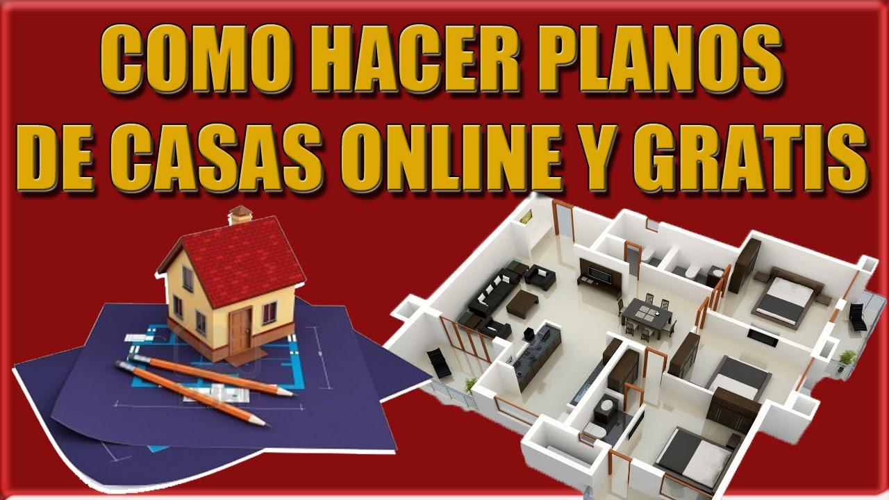 Como hacer planos de casas online youtube for Como hacer planos de casas online gratis