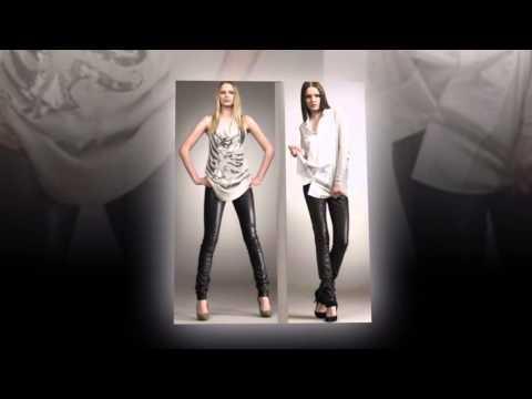 С чем носить кожаные брюки?