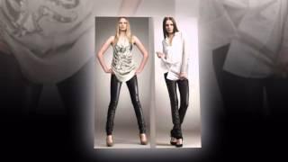 видео кожаные брюки женские