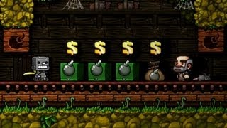 Bomb heaven - Spelunky Daily, 30th of September 2013