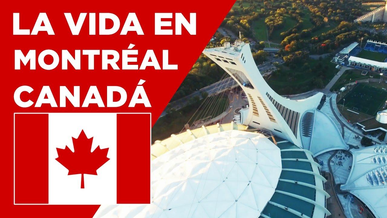 La Vida En Montreal Canadá Conociendo Canadá Youtube