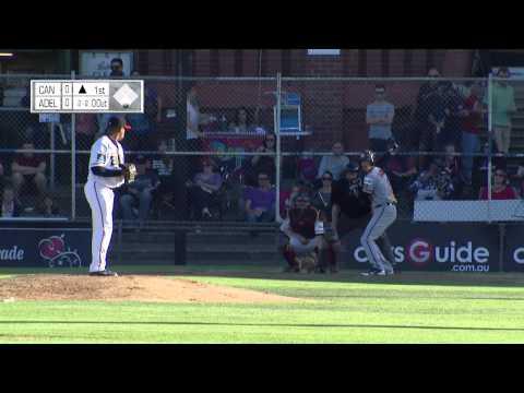 Australian Baseball League 2012/13 - Adelaide v Canberra