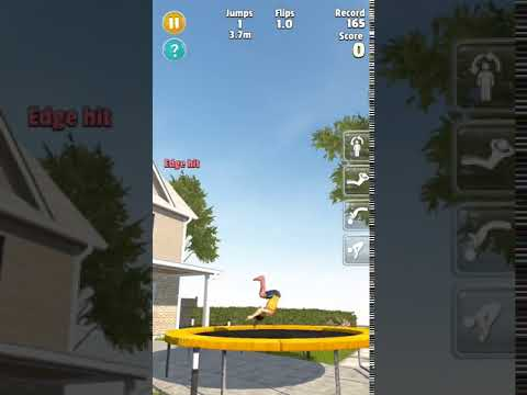 Replay from Flip Master - The Ultimate Trampoline Game!