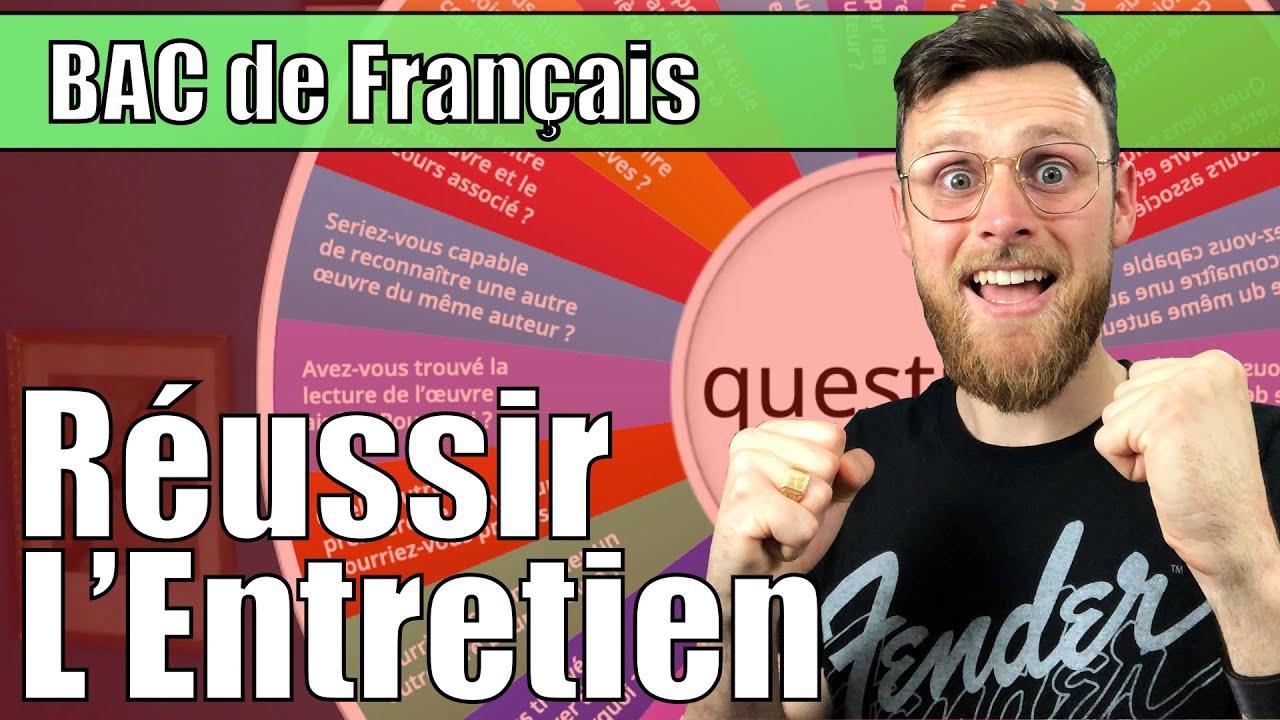 Download BAC : Préparer l'ENTRETIEN lors de l'Oral de  Français. Que faut-il savoir ?