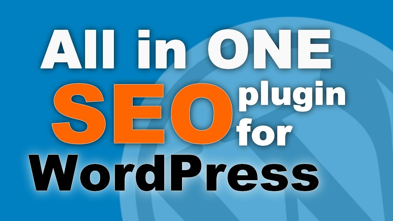 All In One SEO Pack WordPress plugins seo