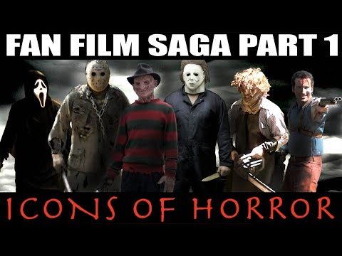 Freddy vs Jason vs Michael Myers vs Leatherface vs Ghostface vs Ash Williams ICONS OF HORROR 1