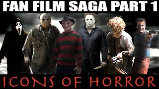 Repeat youtube video Freddy Krueger vs Jason Voorhees vs Michael Myers vs Leatherface vs Ghostface vs Ash Williams
