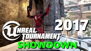 SHOWDOWN! 2017 Unreal Tournament 4/2016 Bots & Multiplayer Alpha Gameplay (UT4 PC) + Download Link