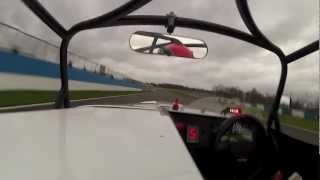 22nd november donington park in the supercharged caterham r600 620r