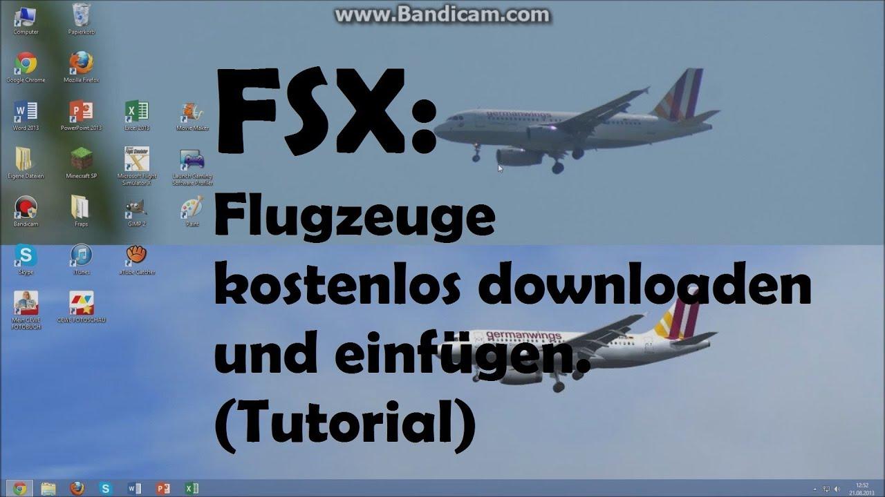 kostenlos flugzeuge für fsx