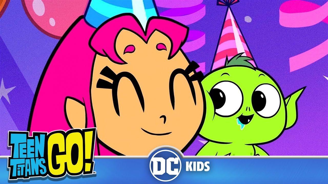 Teen Titans Go! En Español Feliz cumpleaños, Chico Bestia DC Kids YouTube