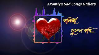 Kolija Dufal Kori Vorire Muharee || Assamese Sad Songs