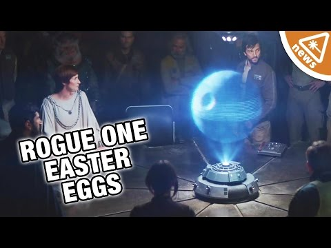 Rogue One Star Wars Easter Eggs! (Nerdist...