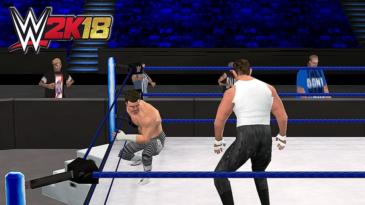 WWE 2K18 PSP Gameplay