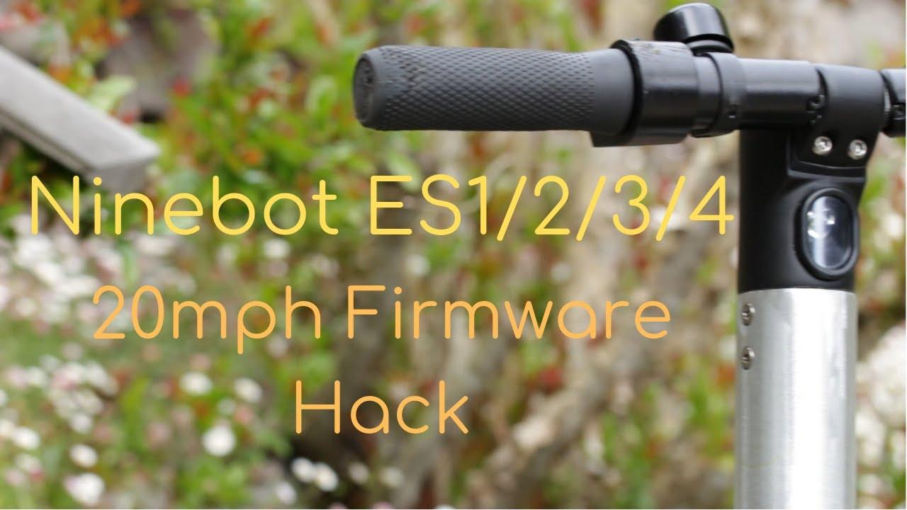 Ninebot ES/SNSC Custom Firmware (CFW) ST-Link Flash Tutorial