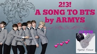 Video [FMV]BTS 2!3! : A SONG TO BTS BY ARMYS (Song by: WTF Bangtan? ) download MP3, 3GP, MP4, WEBM, AVI, FLV Mei 2018