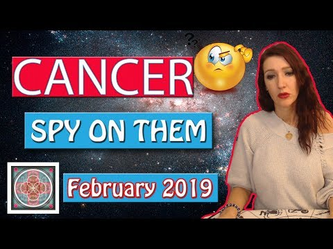 "CANCER, "" WHAT DO THEY SECRETLY WANT TO TELL YOU""  February 2019 SPY ON THEM LOVE READINGS"