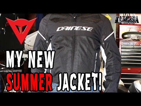 e8eeca4f Gear Review | Dainese Air Frame D1 Jacket - YouTube