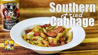Southern Fried Cabbage with Bacon and Sausage