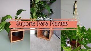 Reaproveitando Madeira – Suporte para plantas
