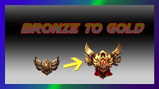 League of Legends Grind from Bronze to Gold