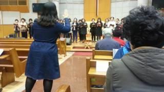 2017.04.13(목)신안교회고난주간 특별새벽기도찬양
