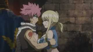 NaLu Moment Natsu Hugs Lucy (Warning Movie Spoilers)