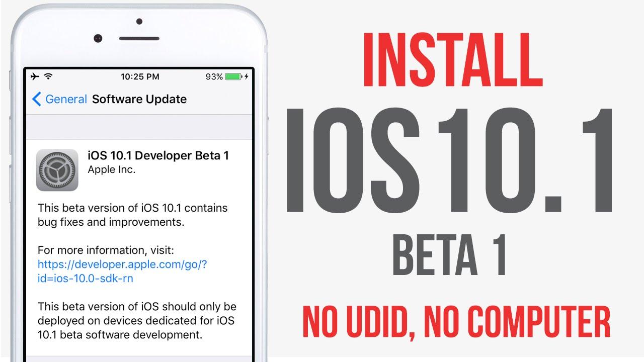 udid iphone ios 10