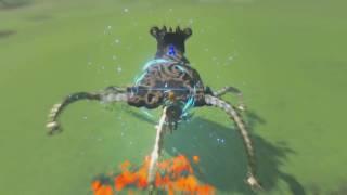 The Legend of Zelda: Breath of the Wild - Boss Battles Gameplay - Wii U / NX