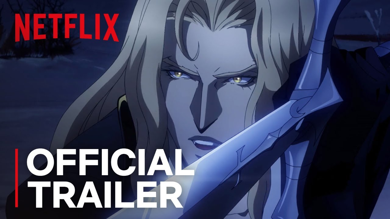 Castlevania Season 2 Official Trailer Hd Netflix Youtube