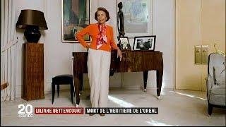 LILIANE BETTENCOURT : mort de l'héritière de l'Oréal / JT du jeudi 21 septembre 2017