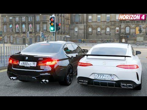 Forza Horizon 4 Online - Mercedes-AMG GT63 S 4MATIC+ 4-Door & BMW M5 F90 (Ft. FTHY)