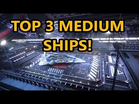 Elite dangerous - THE BEST 3 MEDIUM SHIPS! - TOP 3 MEDIUM SHIPS!