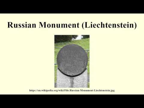 Russian Monument (Liechtenstein)
