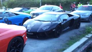 Welcome Singapore Club Lamborghini 50 Th Anniversary Asia Drive Celebrazione 2013   On 11th May 2013